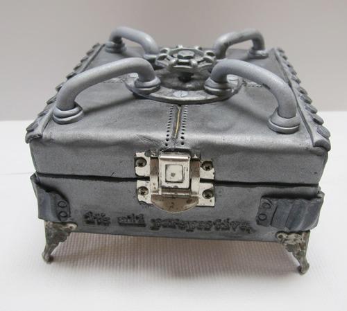 Steampunk Treasure Box by Carole Monahan
