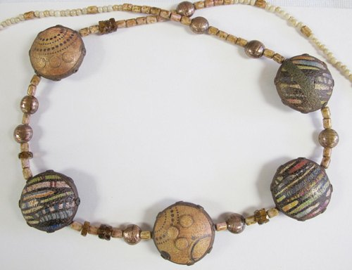 Bodacious Beads Necklace by Deb Goodrow