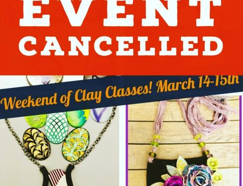 Weekend of Clay Classes Cancelled